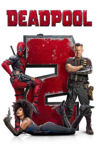 movie poster for Deadpool 2