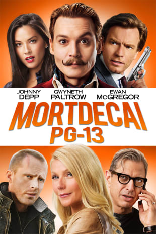 movie poster for Mortdecai