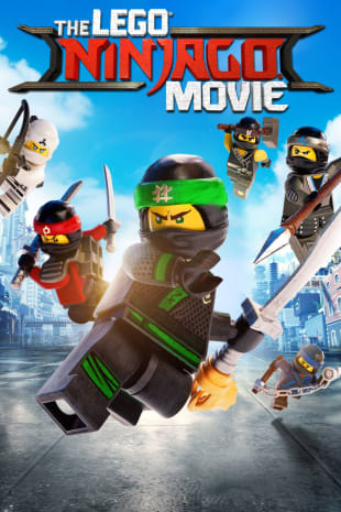 movie poster for The Lego Ninjago Movie