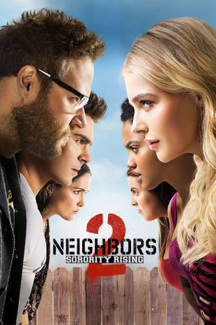 movie poster for Neighbors 2: Sorority Rising
