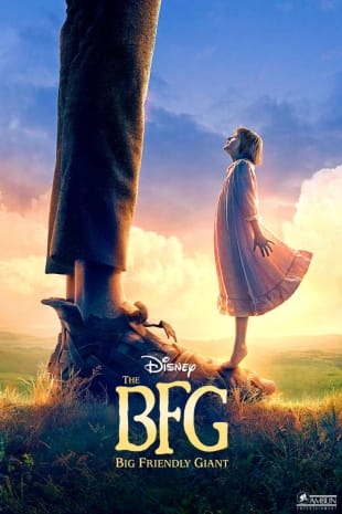 movie poster for The BFG