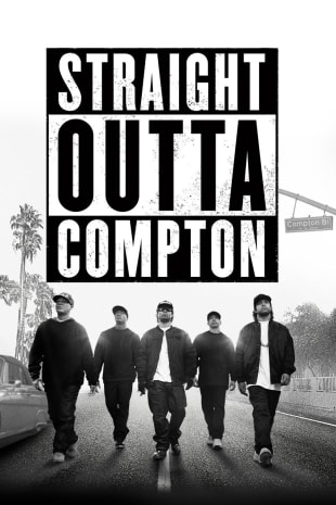 movie poster for Straight Outta Compton