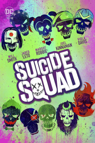 movie poster for Suicide Squad