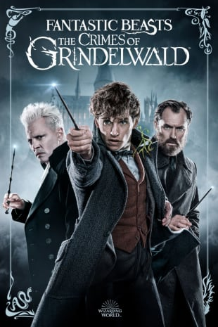 movie poster for Fantastic Beasts: The Crimes Of Grindelwald