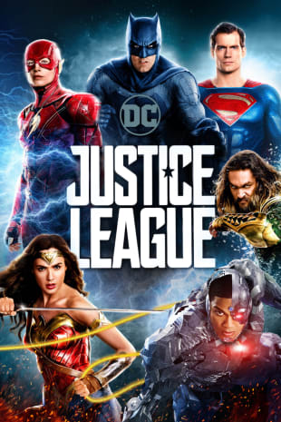 movie poster for Justice League