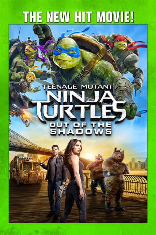 movie poster for Teenage Mutant Ninja Turtles: Out of the Shadows