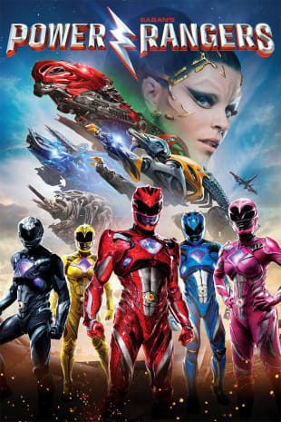 movie poster for Power Rangers
