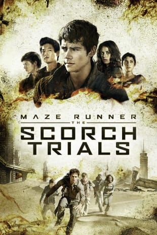 movie poster for The Maze Runner: Scorch Trials