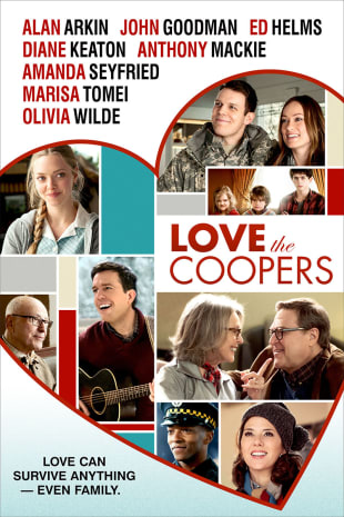 movie poster for Love The Coopers