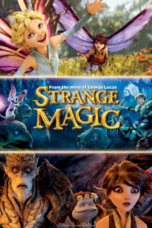 movie poster for Strange Magic