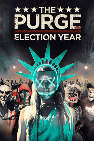 movie poster for The Purge: Election Year