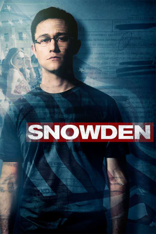 movie poster for Snowden
