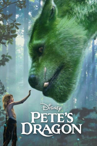 movie poster for Pete's Dragon