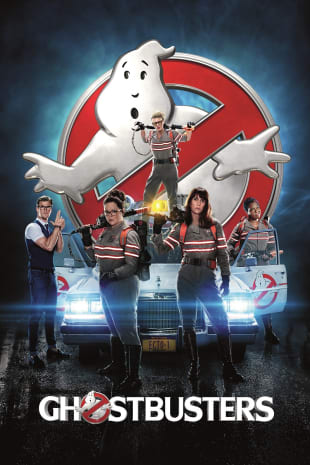 movie poster for Ghostbusters