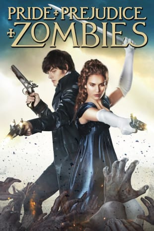 movie poster for Pride And Prejudice And Zombie