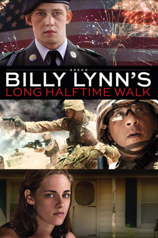 movie poster for Billy Lynn's Long Halftime Walk