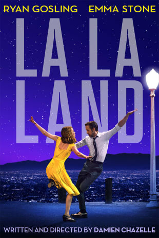 movie poster for La La Land