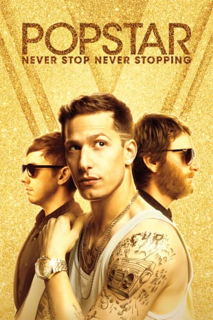 movie poster for Popstar: Never Stop Never Stopping