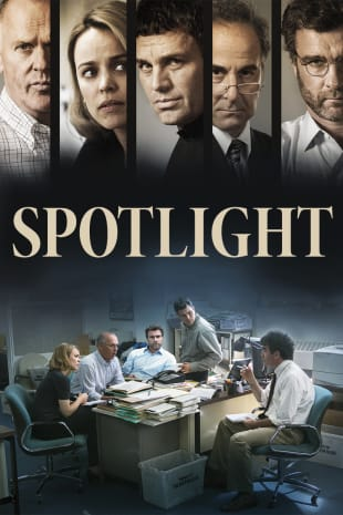 movie poster for Spotlight