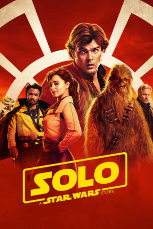 movie poster for Solo: A Star Wars Story