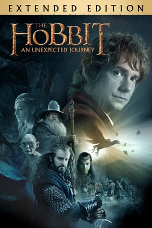 movie poster for The Hobbit: An Unexpected Journey (Extended Edition)