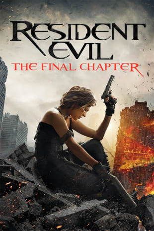 movie poster for Resident Evil: The Final Chapter