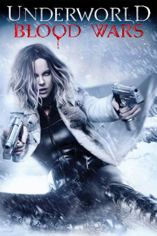 movie poster for Underworld: Blood Wars