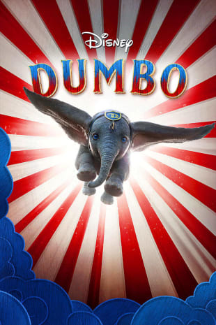movie poster for Dumbo
