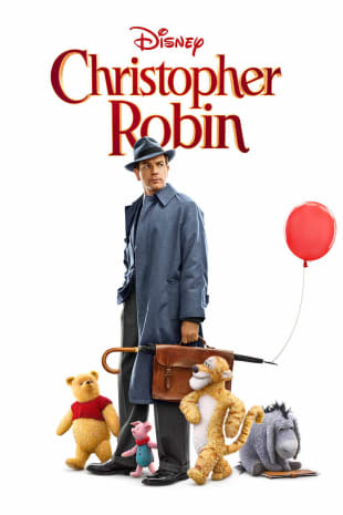 movie poster for Disney's Christopher Robin