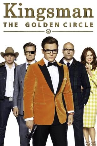 movie poster for Kingsman: The Golden Circle