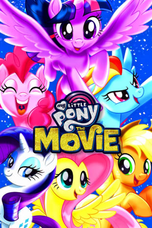 movie poster for My Little Pony: The Movie