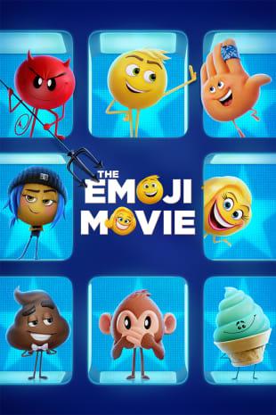 movie poster for The Emoji Movie