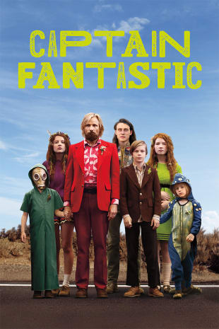 movie poster for Captain Fantastic