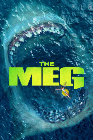 movie poster for The Meg