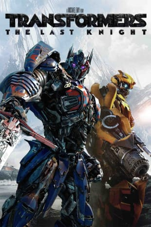 movie poster for Transformers: The Last Knight