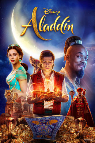 movie poster for Aladdin
