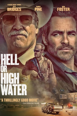 movie poster for Hell Or High Water