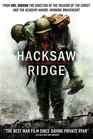 movie poster for Hacksaw Ridge