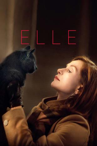 movie poster for Elle