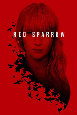 movie poster for Red Sparrow