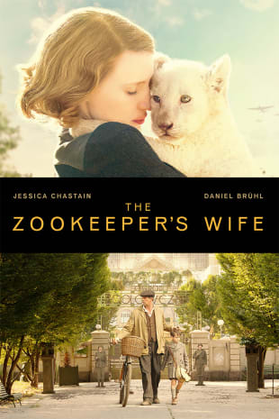 movie poster for The Zookeeper's Wife