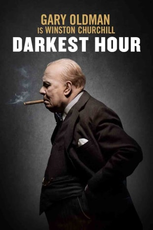 movie poster for Darkest Hour