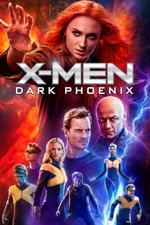 movie poster for Dark Phoenix