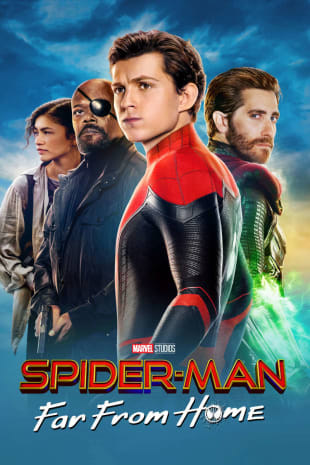 movie poster for Spider-Man: Far From Home
