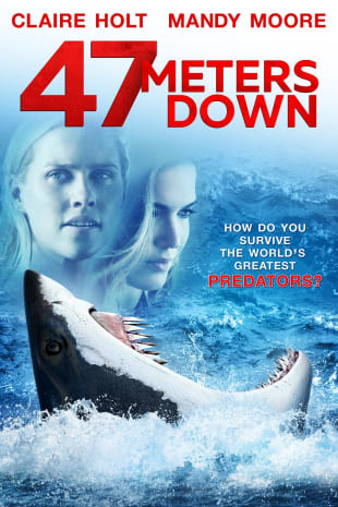 movie poster for 47 Meters Down