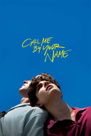 movie poster for Call Me By Your Name
