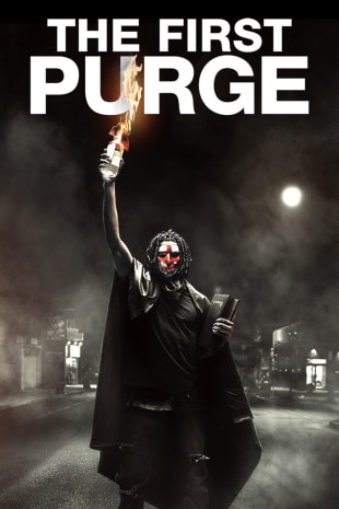 movie poster for The First Purge