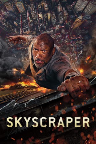 movie poster for Skyscraper