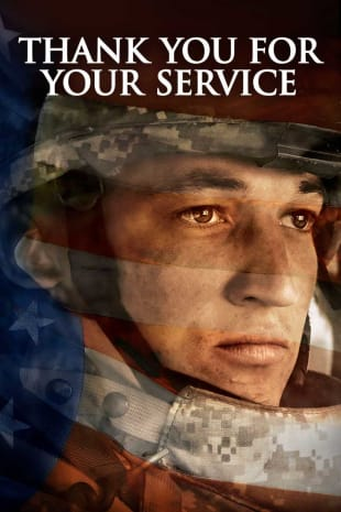 movie poster for Thank You For Your Service