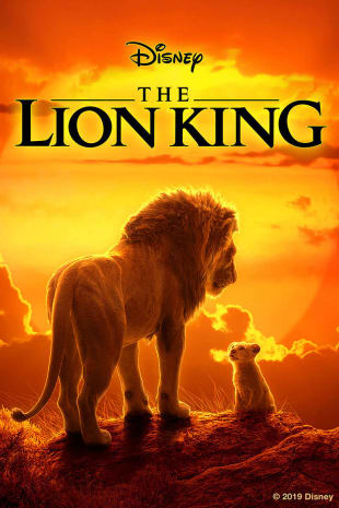 movie poster for The Lion King
